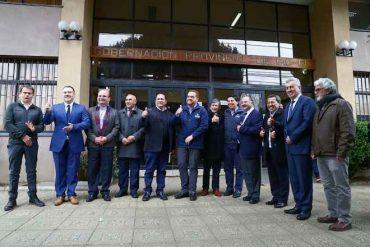 Giacaman confirma inversión de mil millones de pesos en primera reunión intercomunal por aeródromo María Dolores