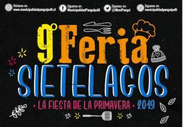 9° Feria Sietelagos destacará lo mejor de la gastronomía y artesanía de Panguipulli