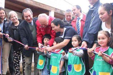 Inauguran inédito sistema de calefacción geotérmico en jardín infantil de Mariquina