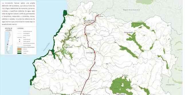Elaboran primer mapa referencial de humedales de Los Ríos