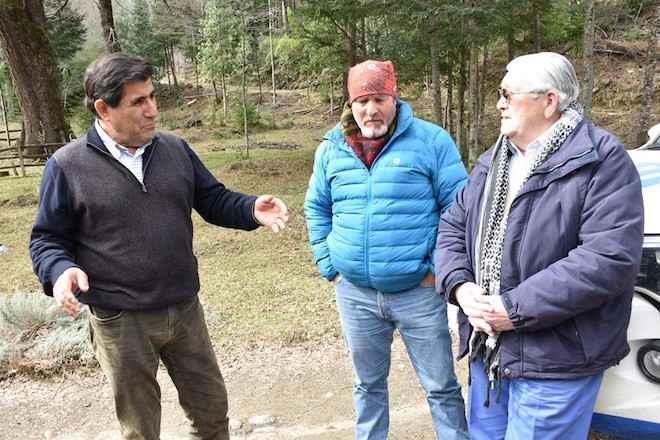 Ministro Aldana lidera diligencias para encontrar restos de detenido desaparecido en Mulchén