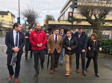 Subsecretario de Economía e intendente de Los Lagos dan a conocer medidas de reactivación económica para pymes afectadas por corte de agua en Osorno