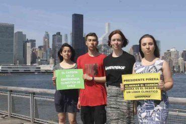 Greenpeace, Fridays for Future y ONG FIMA critican discurso del presidente Piñera en Naciones Unidas