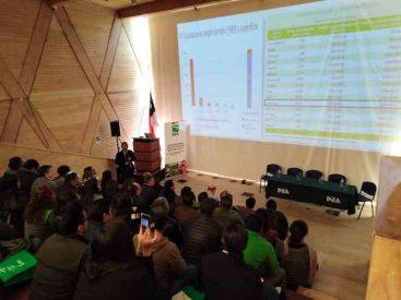 Capacitan a productores de hortalizas de La Araucanía para ampliar su venta a otros mercados