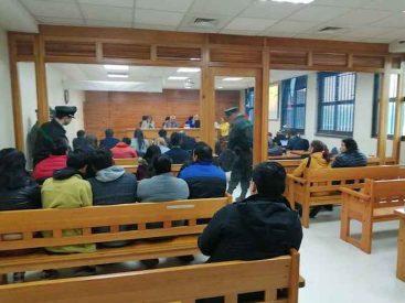 A 10 años y un día de cárcel condenan a 8 integrantes de clan familiar que traficaba cocaína en Valdivia