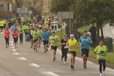 Media Maratón del Biobío convocó a 4 mil participantes