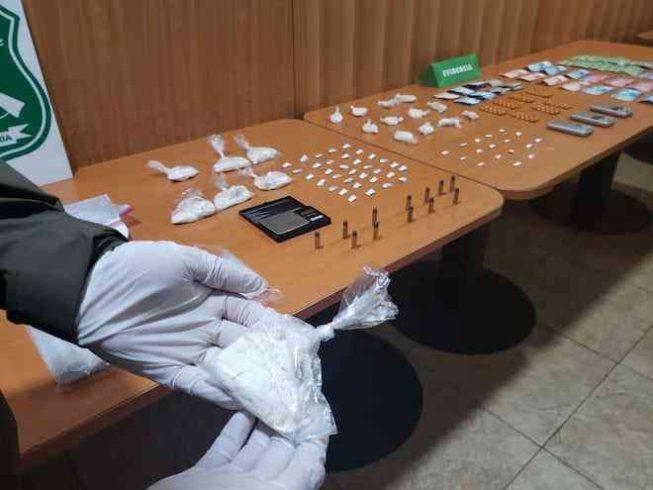 OS7 detuvo a clan familiar dedicado al tráfico de drogas en Valdivia