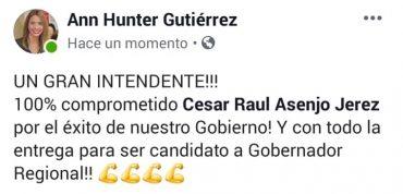 Presidenta de RN Los Ríos acusa a seremi de Gobierno de proselitismo político