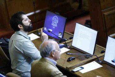 """Diputado Gabrel Boric: """"Queremos rebajar en un 50% la dieta parlamentaria"""""""