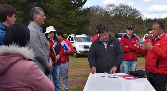 Alcalde de Collipulli encabezó reunión para solucionar el deterioro de rutas interiores de la comuna