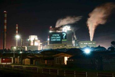 """Greenpeace y cancelación de la COP25: """"Es un enorme fracaso para las demandas medioambientales que enfrenta el país"""""""