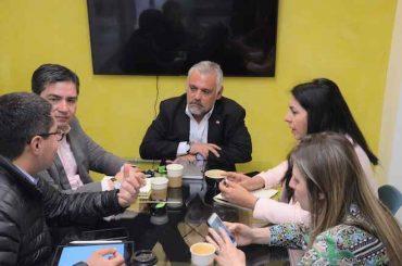 Seremi de Economía se reunió con Asech Biobío para coordinar apoyo a las Pymes de la Región