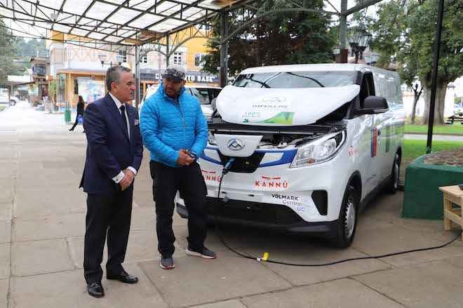 Puerto Varas continúa promoviendo electromovilidad a través de Ruta del Oxígeno