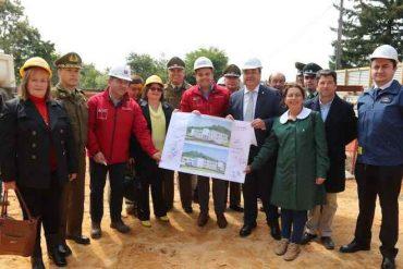 Inician construcción del nuevo edificio que albergará la 1era Comisaría de Arauco