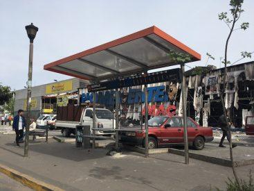 Millonarias pérdidas en infraestructura vial y urbana se registran en Concepción en 10 días de protestas