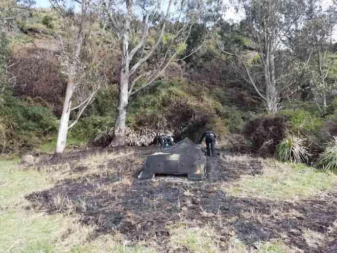 Desconocidos queman embarcación en sector de Galera en la comuna de Corral