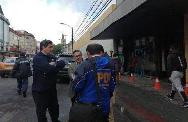 Fiscalía declaró foco investigativo por saqueos a locales comerciales en Valdivia habilitando correo para que comunidad comparta fotos y videos