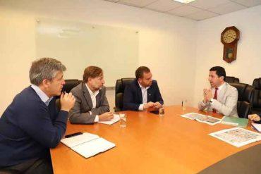 Intendente Giacaman solicita a EFE extensión del Tren Central hasta Cabrero
