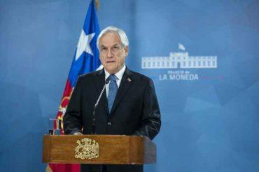 Presidente Piñera anuncia conjunto de propuestas para una agenda social