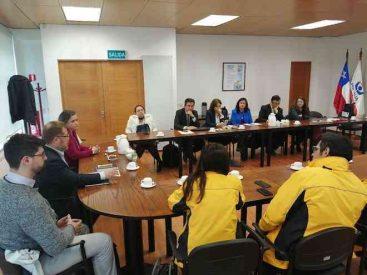 Jueces de Puerto Montt encabezan reunión de coordinación con instituciones del sistema de justicia ante crisis social