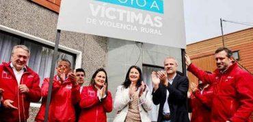 Ministro Sichel inaugura Oficina de Atención a Víctimas de la violencia rural en La Araucanía