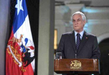 """Presidente Piñera valora acuerdo constitucional destacando que la Agenda Social se hará cargo de """"la fragilidad y los temores de la clase media"""""""