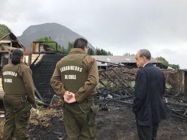 Fiscalía, PDI y Carabineros investigan saqueo a Farmacia y posterior incendio de bodega en Coyhaique