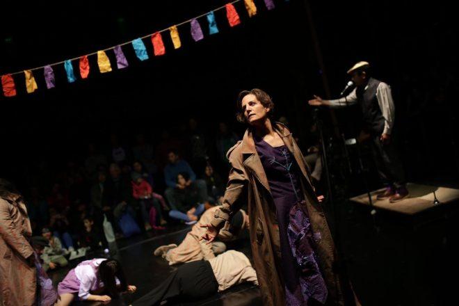 """Primeras presentaciones del XVIII Fitich en Chiloé: """"Fue fuerte encontrarnos con esta descarnada realidad tan cruda que vive nuestro pueblo"""""""