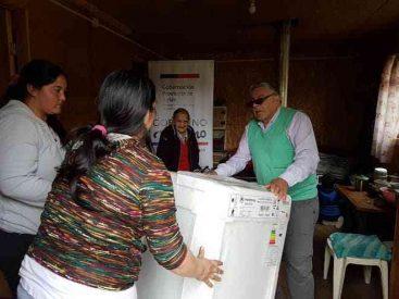 Gobernación de Aysén entrega ayuda social a Adulta Mayor de 89 años