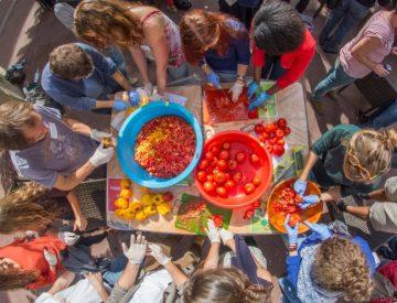 Festival aborda gravedad del desperdicio de alimentos en Concepción