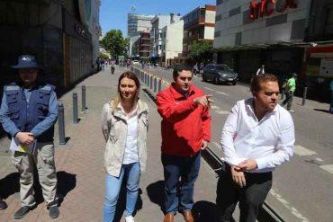 MINVU inicia trabajos de reparación de veredas en el centro de Concepción
