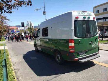 Trece detenidos por alterar el orden público dejaron última jornada de manifestaciones en la Región de Los Ríos