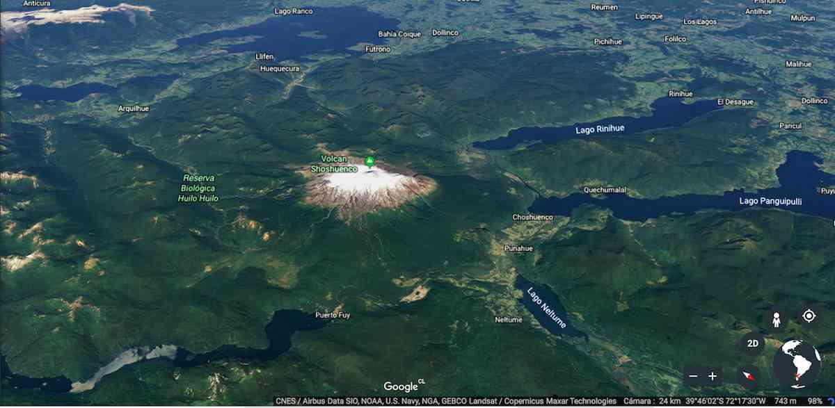Gobierno firmó acuerdo que permitirá a las personas acceder a la Reserva Volcán Mocho Choshuenco