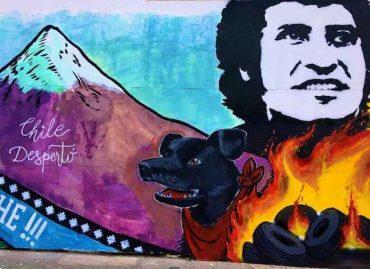 """Mural no autorizado en obras de mall Paseo Valdivia: Grupo Pasmar respetará su """"valor artístico"""""""