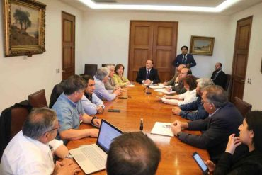 Dirigentes de la pesca artesanal y autoridades se reunieron con ministro Segpres y subsecretario de Pesca en Aysén