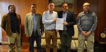 Intendente Giacaman inicia agenda con alcaldes de la región