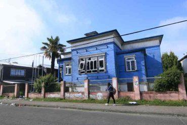 Sede de la Democracia Cristiana fue saqueada y sufrió grandes daños tras noche de violencia en Valdivia