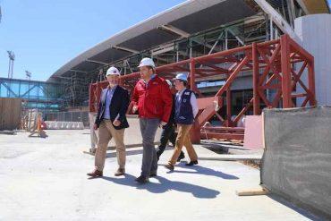 Autoridades de la Región del Biobío supervisan obras del Aeropuerto Carriel Sur para primer vuelo internacional
