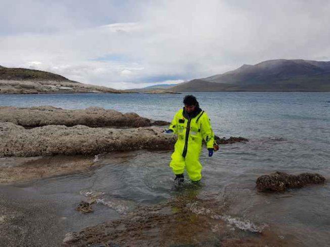 Científicos estudian estromatolitos en Magallanes para observar efectos del cambio climático