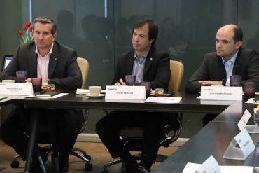 Ministerio de Economía e InvestChile se reúnen con empresas extranjeras para evaluar medidas de apoyo a pymes