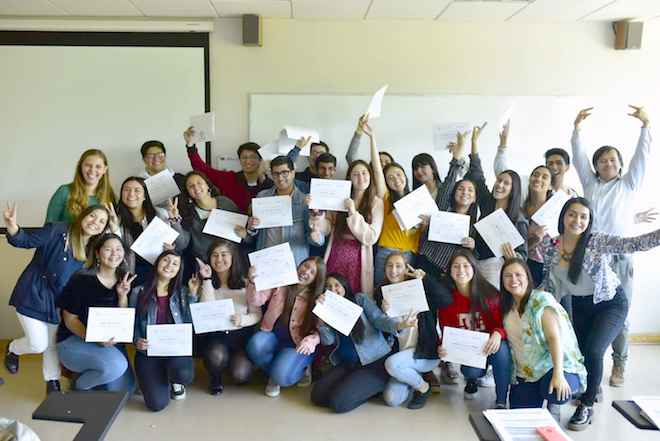 Universidad San Sebastián capacitó a estudiantes como líderes inclusivos en Concepción