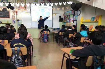 Bicrim Aysén ofreció charlas educativas sobre ciberbullying a escolares