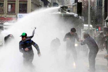 Corte de Concepción acoge recurso de amparo y prohíbe uso de químicos para restablecer orden público