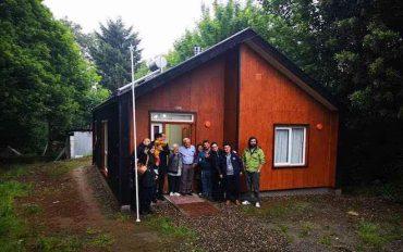 Inauguran primera vivienda sustentable en la Región de Los Ríos