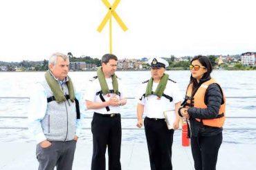 Autoridades afinan medidas de seguridad para espectáculo pirotécnico de fin de año en Puerto Varas