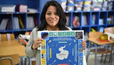 """""""Parásitos bajo cero, una carrera antártica"""": Asociación de Científicos Polares premia juego didáctico creado en Chile"""