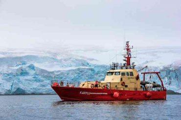"""""""Karpuj"""" la nave científica del INACh comienza su tercera campaña en Antártica"""
