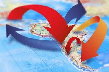 INE contabiliza 56 951 personas migrantes internacionales de retorno en 2017