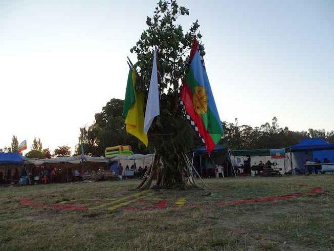 Comunidades mapuches restituyeron Rehue en Parque Laguna Grande