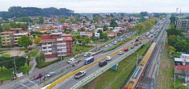 Realizan obras de conservación de corredor de transporte público en San Pedro la Paz